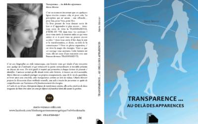 Extraits du livre « Transparence » Auteur : Marie Mercier